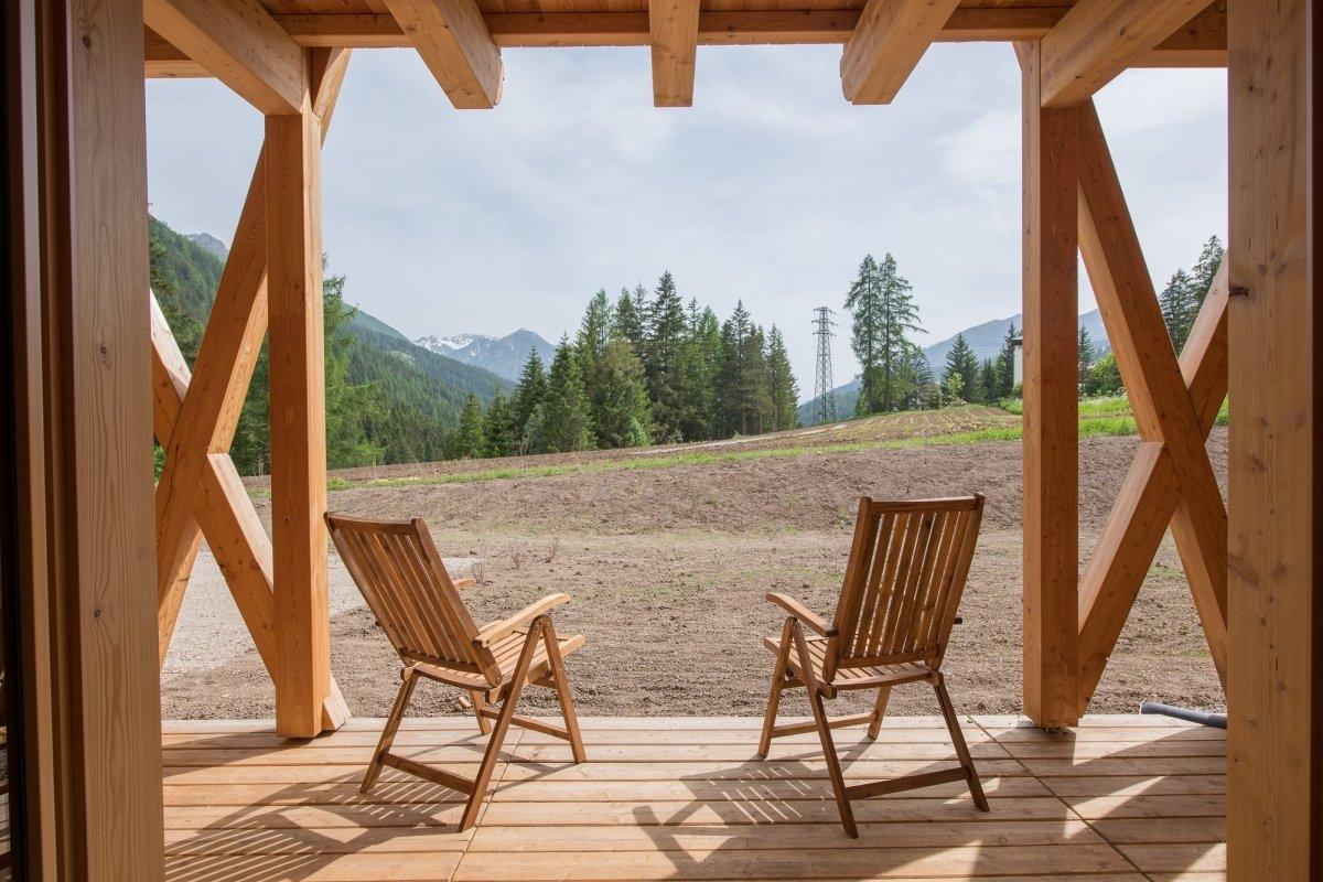 patio in legno